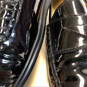 Cole Haan Shoes - Cole Haan  Air Black Patent Leather Loafers 8.5